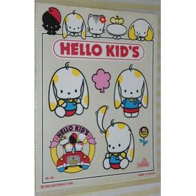 Adesivo Cartelas C/38 Hello Kid