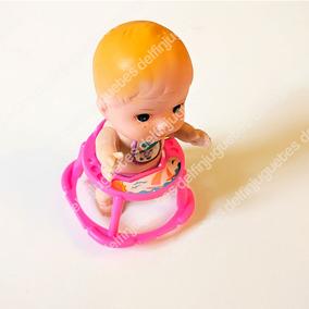 Muñeco De Juguete A Cuerda Bebé Con Andador ¡camina!