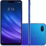 Smartphone Xiaomi Mi 8 Lite 128gb Pelicula Fone Xiaomi Azul