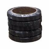 Fleje De Plástico Negro 1/2 Aplicación Manual 800m 3 Rollos