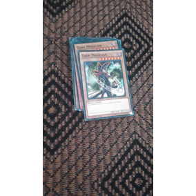 Yugioh Deck Mago Negro Original + 40 Sleeves Transparentes