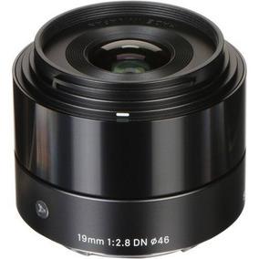 Lente Sigma 19mm F2.8 Dn Sony E A6300 A6500 A6000 A7 A7s Nex