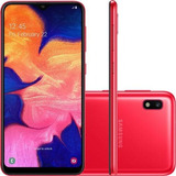 Samsung Galaxy A10 32gb Dual Chip Android 9.0 Vermelho