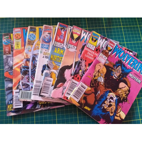 Lote 8 Gibis Wolverine Anos 90 Colecionador Marvel Comics
