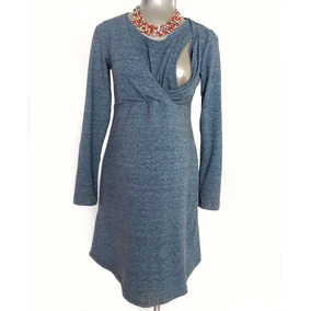 Vestido De Maternidad Y Lactancia Cruzado