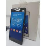 Celular Sony Xperia M4 Aqua 4g 2chip E2306 Vitrine Preto