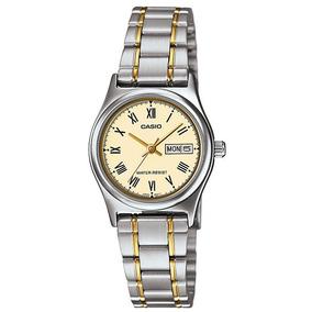 f212b3bb740b9 Relogio Feminino Dourado - Relógio Casio Feminino no Mercado Livre ...