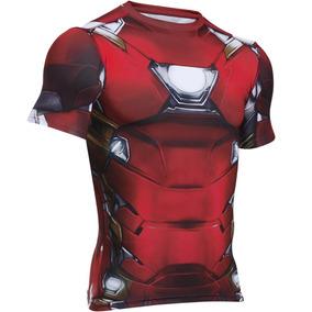 Playera Compression Iron Man Hombre Under Armour Ua1549