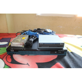 Router Cisco 2900 (2901) + Interface, Swisher 24, Y Fuente
