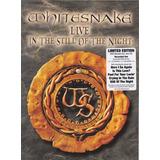 Whitesnake Dvd + Cd Live In The Still Of The Night Importado