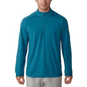 Sudadera Hombre adidas Golf Casual Azul Turquesa Mediana Nva