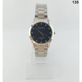 8b90eebf0b1 Relogio Prata Feminino - Relógio Atlantis Feminino no Mercado Livre ...