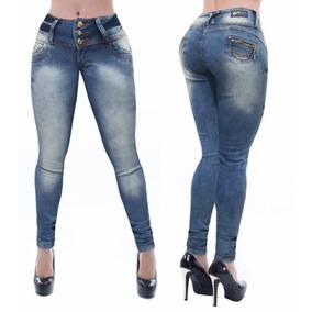 Calça Jeans Feminina Cheris Lavanta Bumbum Estilo Pitbull