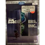 Disney Monter Inc. 3d Nueva