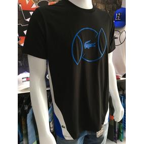 eab2dc42f27 Lacoste Sport - Camisa Masculino Preto no Mercado Livre Brasil