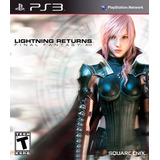Final Fantasy Xiii Lightning Returns - Ps3 - Digital- Manvic
