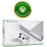 Xbox One S 1 Tb Microsoft Hdr 4k Com Nf E Garantia