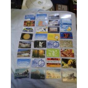Lote De Cartões Telefônicos Antigos N3