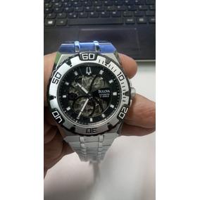 da578d92853 Relogio Bulova Skeleton 98a108 Automatico - Relógios De Pulso no ...