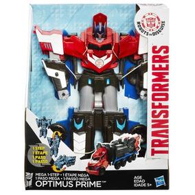 Boneco Transformers Robots In Disguise Mega Optimus Prime B1