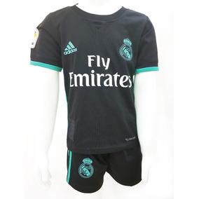 Uniforme Del Real Madrid Negro Para Niño en Mercado Libre México abe3b2586e803