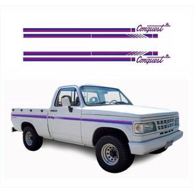 Jogo De Adesivos Chevrolet D20 Conquest 1993 Cabine Simples