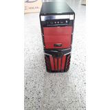 Chasis Gamer Con Fuente De 750 Atx+ Ventilador Led