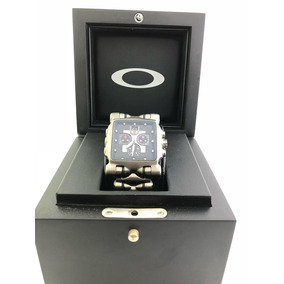 Relógio Oakley Minute Machine Diamond Na Caixa 100% Original