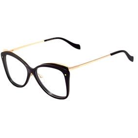 Oculos De Grau Ana Hickmann Dourado - Óculos no Mercado Livre Brasil fe5e0d56ae
