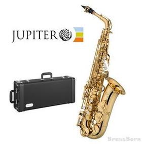Saxo Alto,júpiter Jas 500, Eb,llave De F# + Estuche.