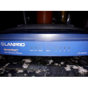 Router Lanpro Lp-5420g Perfecto Estado