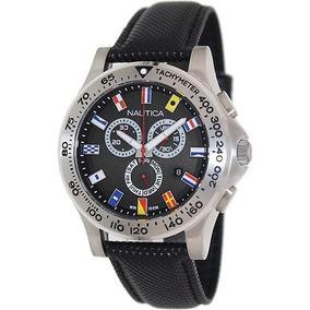 6220d33439be Nautica Reloj Bfd 101 Signal Flag Chronograph Con Correa.