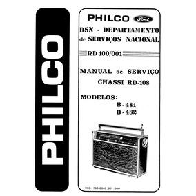 Esquema Transglobe Philco B 481 E 482 Calibragem E Conserto