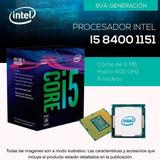 Tek Procesador Intel I5-8400 Socket 1151 Octava Generación