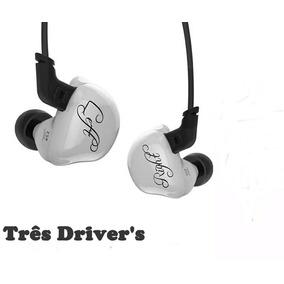 Fone In Ear Kz Zsr - Três Driver