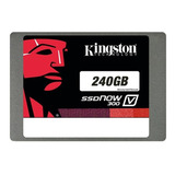 Disco De Estado Solido Kingston 240gb, Sata3, Ssd. (sa400s37