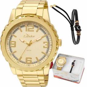 c2899a66338 Relogio Condor Folheado A Ouro - Relógio Masculino no Mercado Livre ...