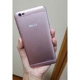 Celular Blu Grand Xl Rosa Usado Semi Novo Fotos Reais Iii