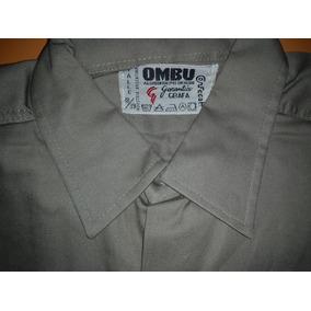 Camisa Hombre Trabajo - Camisas de Hombre Marrón en Mercado Libre ... 27601d0eb93