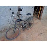 Bicicleta Motorizada 80cc Quadro Antigo De Ferro Reforçado