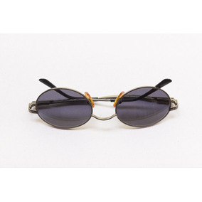 1fc76304bad1e Óculos De Sol Escuros Italiano Importado Redondo