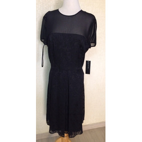 Vestido Negro Dama Elegante Talla 12. Nuevo