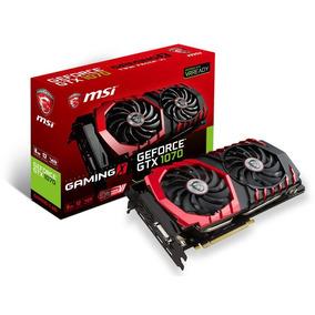 Placa De Video Msi Geforce Gtx 1070 Gaming X 8g Ddr5