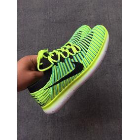 a1ec6669fb4 Nike Free Rn Flyknit Hombres - Zapatillas Hombres Nike en Mercado ...
