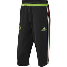 adidas Capri Pescador Pantalon 3 Seleccion Mexicana Mexico 3d14feea1c877