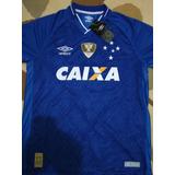 Camisa Cruzeiro 17 18 no Mercado Livre Brasil 69638a3d9cffd