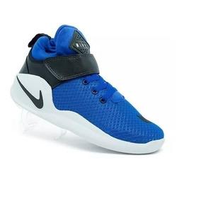 80e8d2c1639 Tenis Basqueteira Nike Masculino - Tênis para Masculino Azul no ...