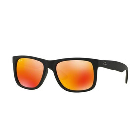 Oculo Espelhado Laranja Ray Ban Justin - Óculos no Mercado Livre Brasil 07b87470a6