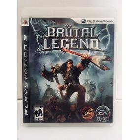 Brutal Legend Jogo Ps3 Blu-ray Game Playstation