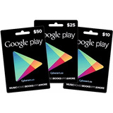 Tarjetas Google Play - Gift Card Usa